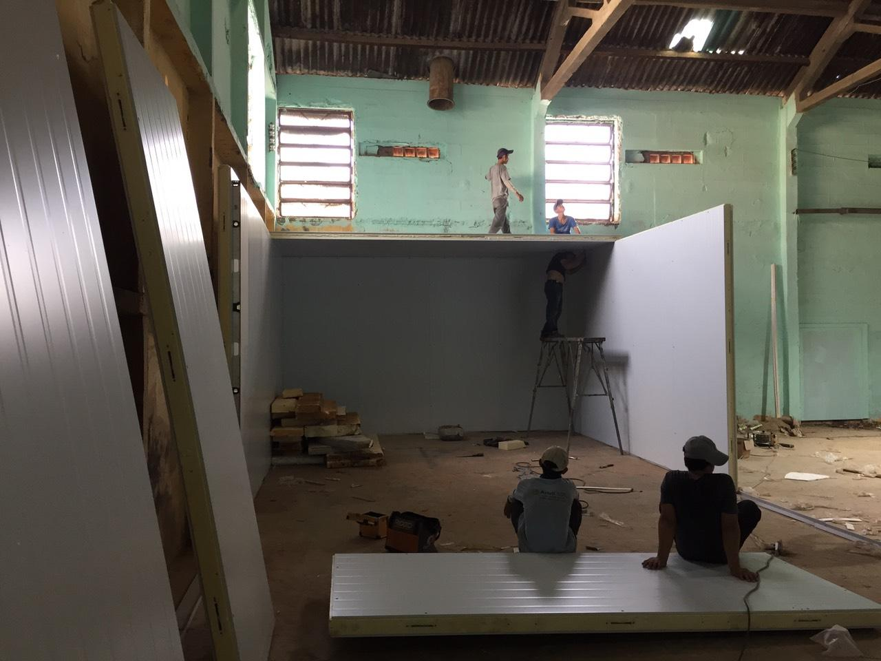Quy trình lắp đặt kho lạnh giá rẻ chuyên nghiệp tại Hưng Trí